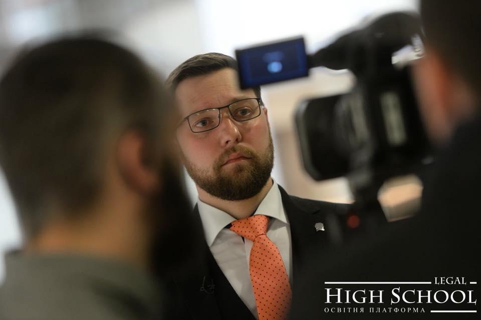 Олексій Шевчук увійшов до Консультаційної ради освітної платформи Legal High School