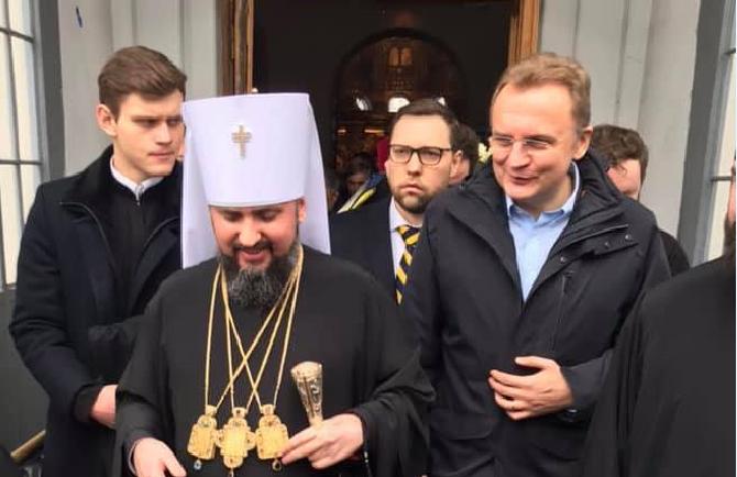 Олексій Шевчук взяв участь в церемонії інтронізації предстоятеля автокефальної помісної православної церкви в Україні Епіфанія